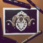 dibujos en tinta