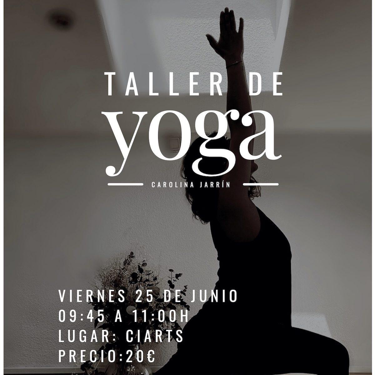 Taller de Yoga en Ciarts